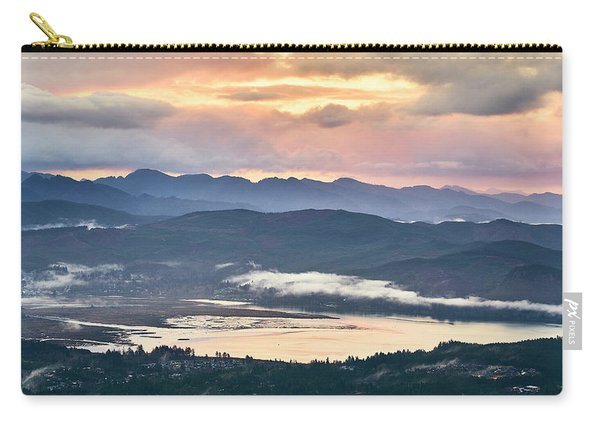 Carry-all Pouch featuring the photograph Across The Bay by Whitney Goodey