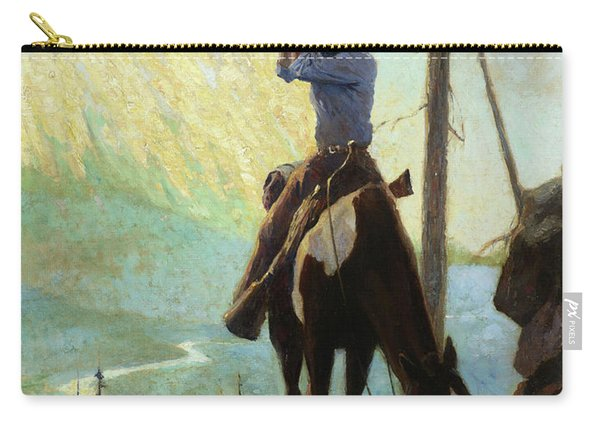 Across The Canyon, 1930 Carry-all Pouch