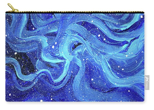 Acrylic Galaxy Painting Carry-all Pouch