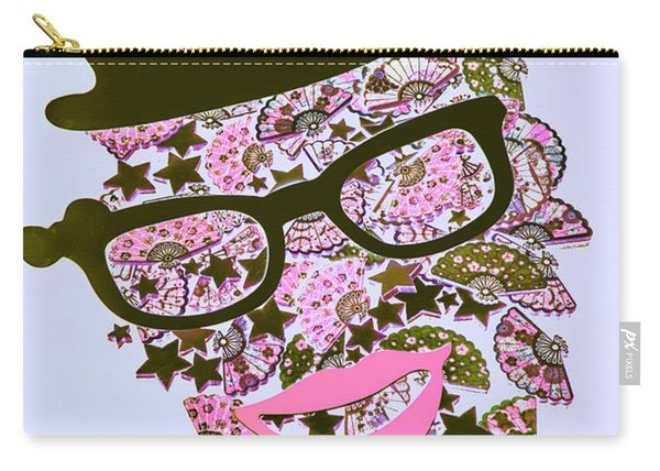 Actin Expressionism Carry-all Pouch