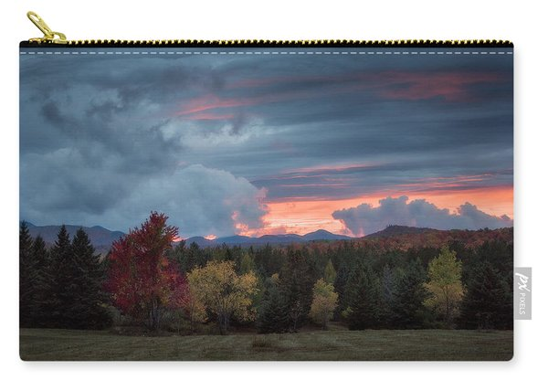 Adirondack Loj Road Sunset Carry-all Pouch