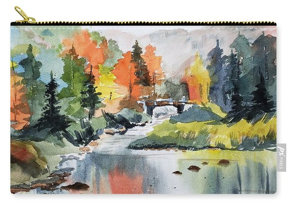 Adirondacks Of New York Carry-all Pouch