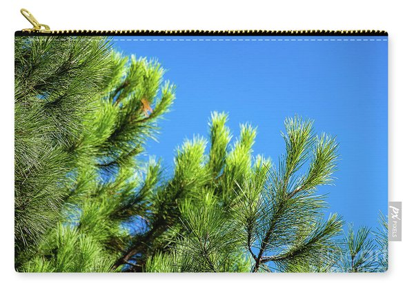 Adriatic Pine Against Blue Sky  Carry-all Pouch