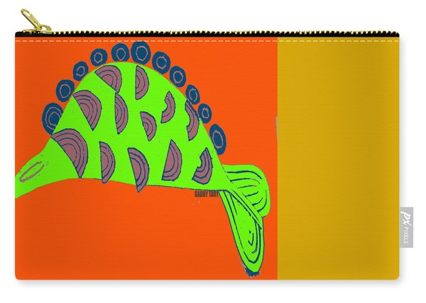 African Fish Carry-all Pouch