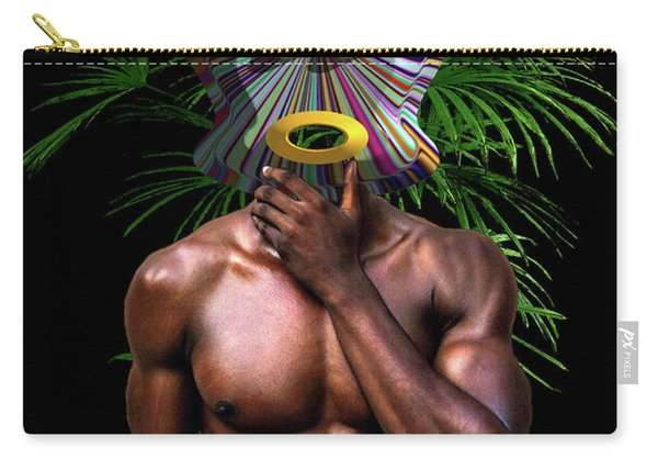 African Masked Man Carry-all Pouch