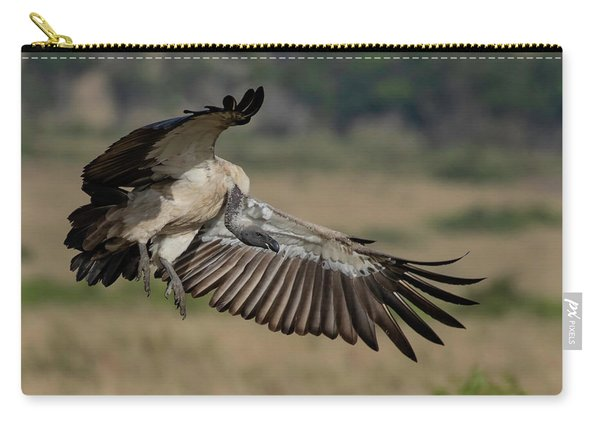 African White-backed Vulture Carry-all Pouch