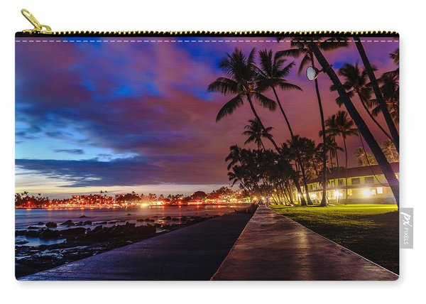 After Sunset At Kona Inn Carry-all Pouch