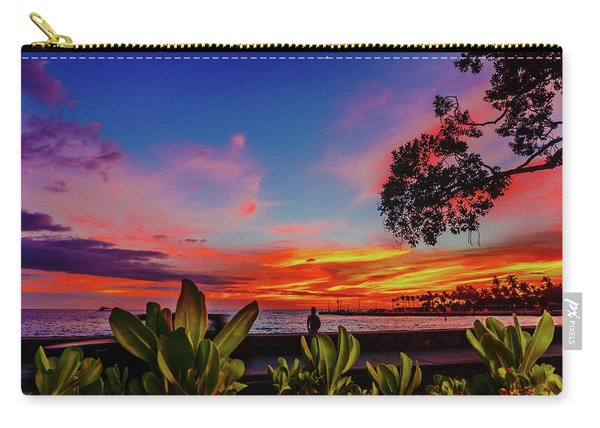 After Sunset Colors Carry-all Pouch