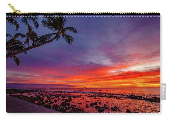 After Sunset Vibrance Carry-all Pouch