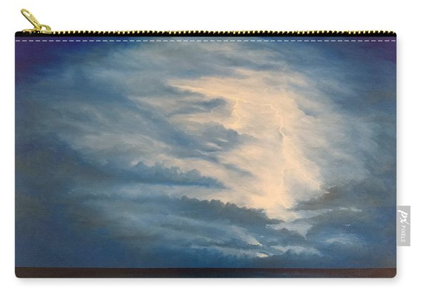 Carry-all Pouch featuring the painting After The Storm by Kevin Daly