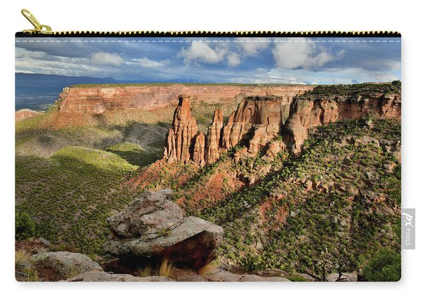 After The Storm Light On Colorado National Monument Carry-all Pouch