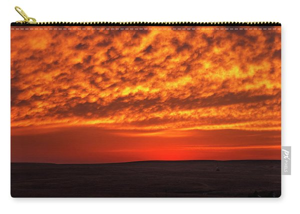 Carry-all Pouch featuring the photograph Afterglow 02 by Rob Graham