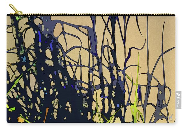 Carry-all Pouch featuring the digital art Afternoon Shadows by Gina Harrison