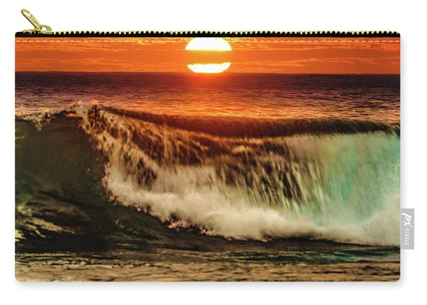 Ahh.. The Sunset Wave Carry-all Pouch