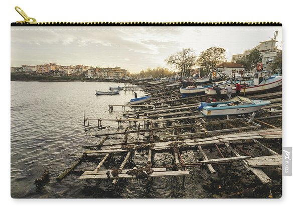 Ahtopol Fishing Town Carry-all Pouch