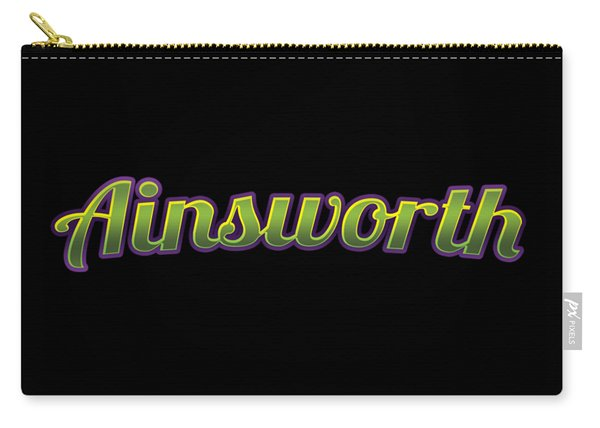 Ainsworth #ainsworth Carry-all Pouch