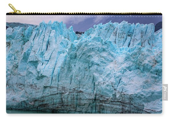 Alaskan Blue Glacier Ice Carry-all Pouch