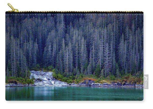 Alaskan Coastline Beauty Carry-all Pouch