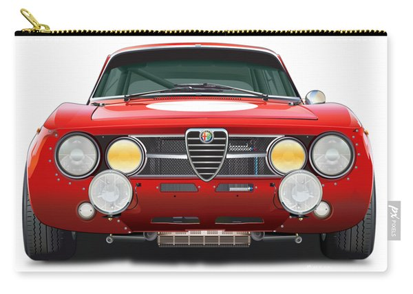 alfa romeo GTA No Background Carry-all Pouch