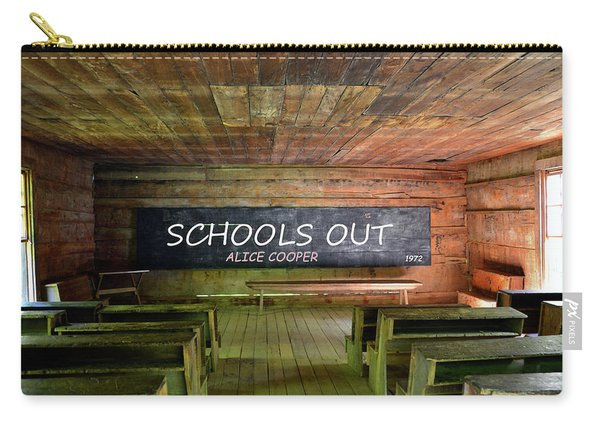 Alice Coopers Schools Out 1972 Carry-all Pouch