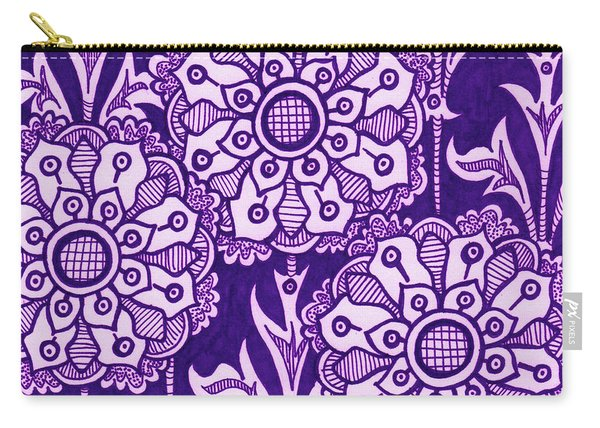 Alien Bloom 1 Carry-all Pouch