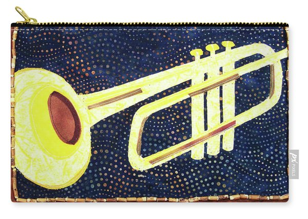 All That Jazz Trumpet Carry-all Pouch