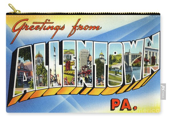 Allentown Greetings Carry-all Pouch