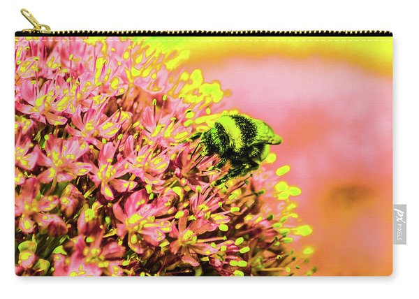 Allium With Bee 1 Carry-all Pouch