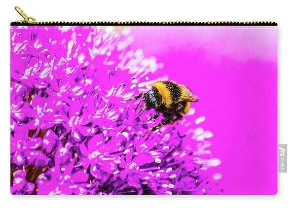 Allium With Bee 2 Carry-all Pouch