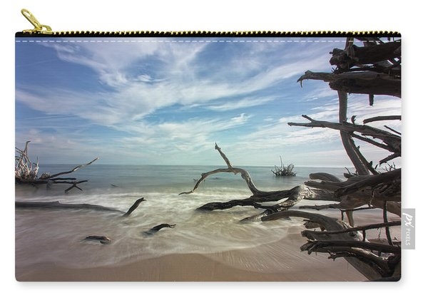 Along The Sand Carry-all Pouch