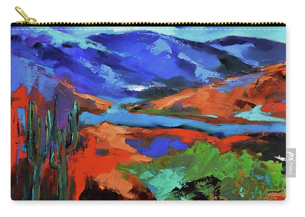 Along The Trail - Arizona Carry-all Pouch