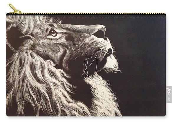 Aloofness Lion Carry-all Pouch