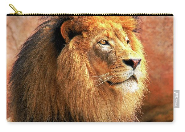 Alpha Male Lion Carry-all Pouch