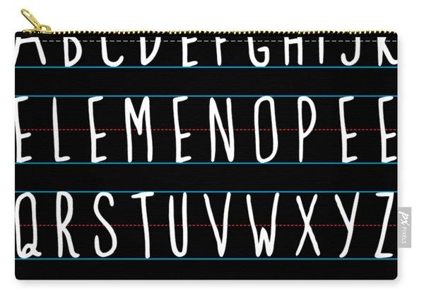Alphabet Elemeno Carry-all Pouch