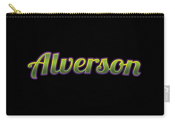 Alverson #alverson Carry-all Pouch