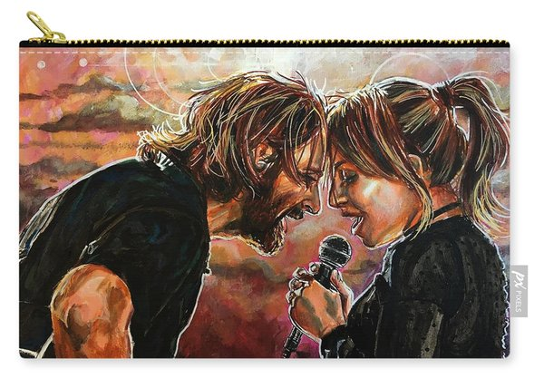 Carry-all Pouch featuring the painting Always Remember Us This Way by Joel Tesch