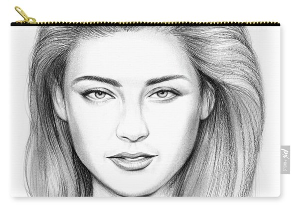 Amber Heard Carry-all Pouch