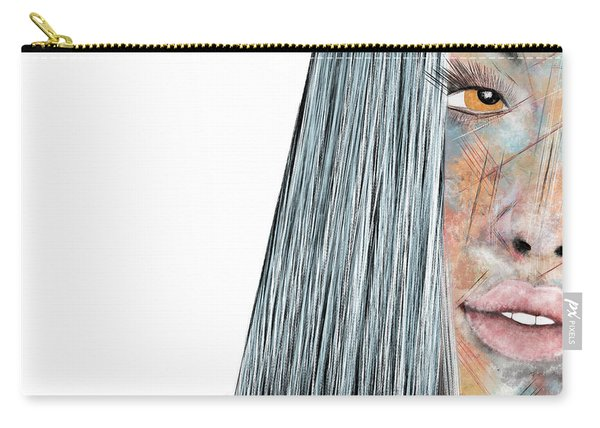 Amber Rose - Woman Abstract Art Carry-all Pouch