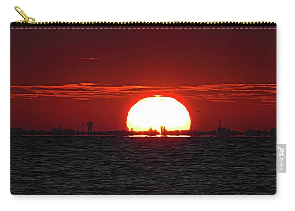 Amber Sky Carry-all Pouch