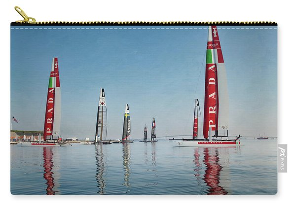 America Cup Boat Reflections Carry-all Pouch
