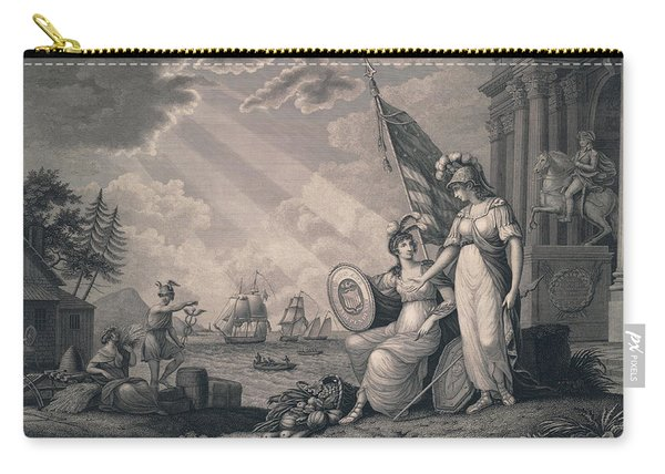 America Guided By Wisdom Carry-all Pouch