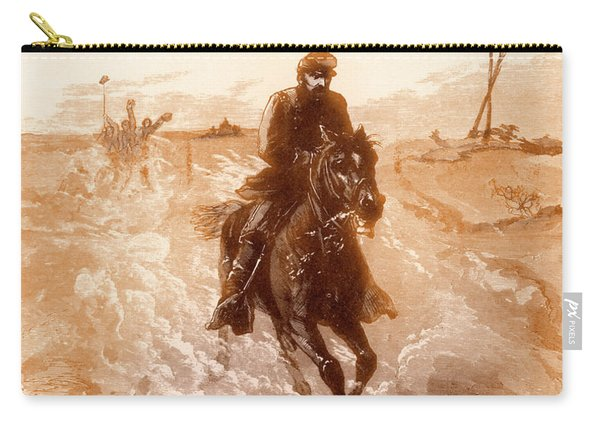 American Civil War Union General Philip Sheridan Rides To The Front Carry-all Pouch