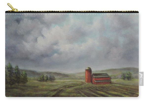 American Scene Red Barn  Carry-all Pouch