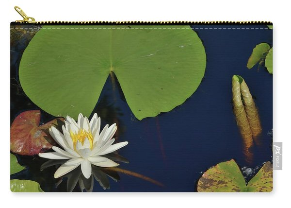 American Water Lily Carry-all Pouch