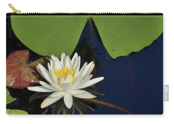 American Water Lily-square Carry-all Pouch