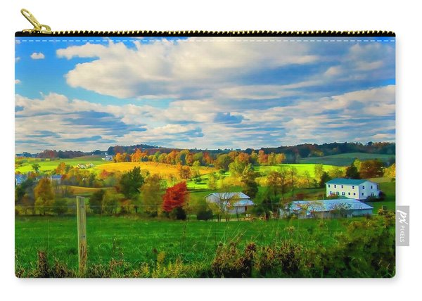 Amish Farm Beauty Carry-all Pouch