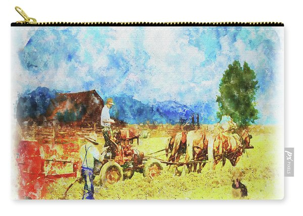 Amish Life Carry-all Pouch