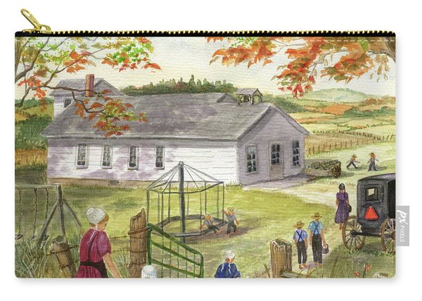 Amish School Days Carry-all Pouch