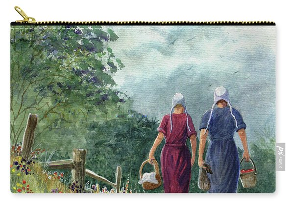 Amish Way Of Life - Bearing Gifts Carry-all Pouch