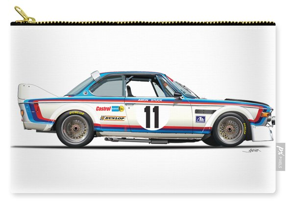 Bmw 3.0 Csl No Background Carry-all Pouch